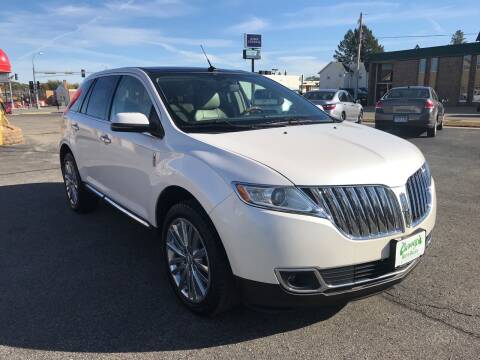 2012 Lincoln MKX for sale at Carney Auto Sales in Austin MN
