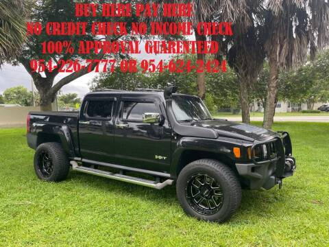 2009 HUMMER H3T for sale at Transcontinental Car USA Corp in Fort Lauderdale FL