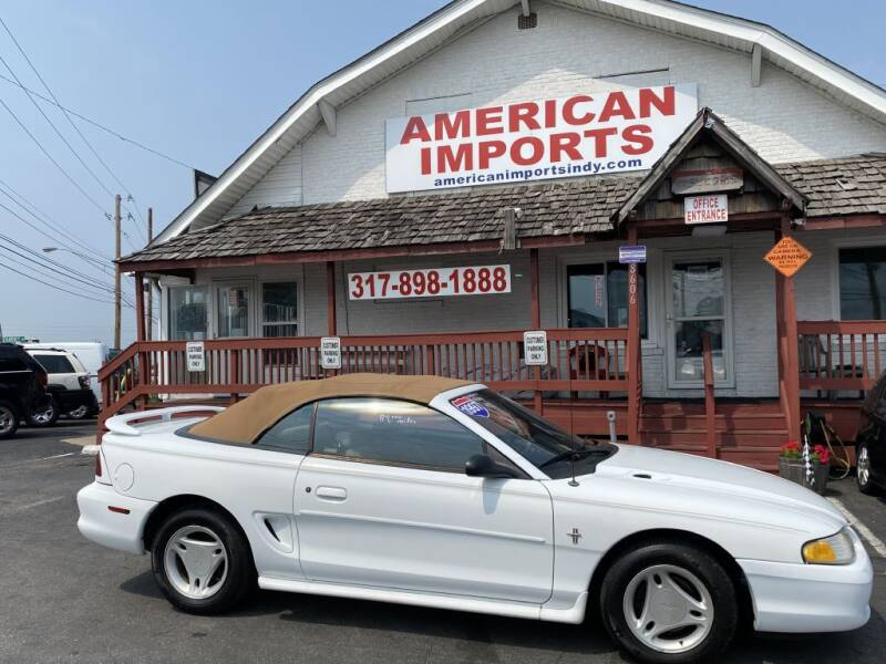 1997 Ford Mustang for sale at American Imports INC in Indianapolis IN