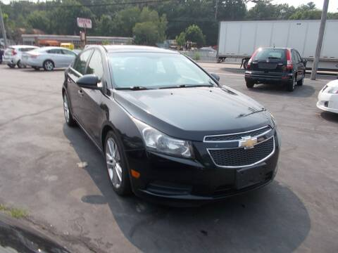2011 Chevrolet Cruze for sale at MATTESON MOTORS in Raynham MA