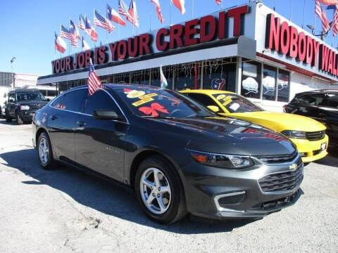 2017 Chevrolet Malibu for sale at Giant Auto Mart 2 in Houston TX