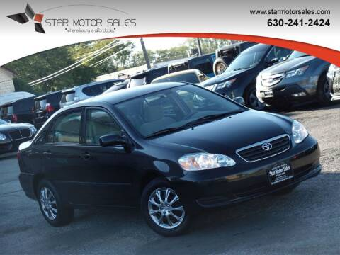 2008 Toyota Corolla for sale at Star Motor Sales in Downers Grove IL