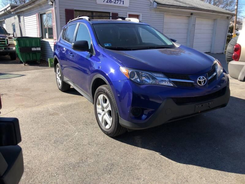 2014 Toyota RAV4 for sale at MOTORS EAST in Cumberland RI