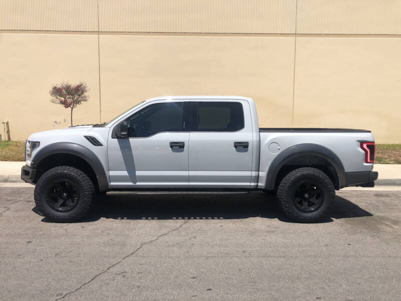 2017 Ford F-150 for sale at HIGH-LINE MOTOR SPORTS in Brea CA