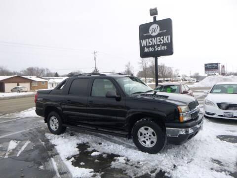 2006 Chevrolet Avalanche for sale at Wisneski Auto Sales, Inc. in Green Bay WI