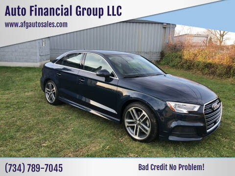 2018 Audi A3 for sale at Auto Financial Group LLC in Flat Rock MI