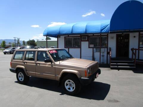 1999 Jeep Cherokee for sale at Jim's Cars by Priced-Rite Auto Sales in Missoula MT