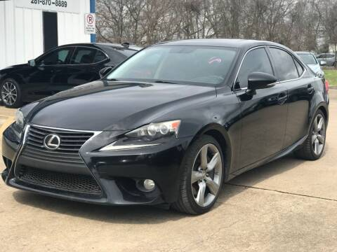 2014 Lexus IS 350 for sale at Discount Auto Company in Houston TX
