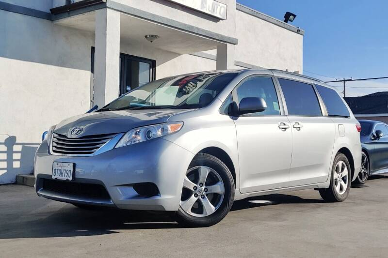 2016 Toyota Sienna for sale at Fastrack Auto Inc in Rosemead CA