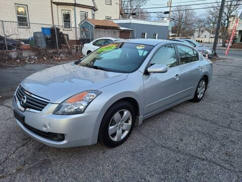 2008 Nissan Altima for sale at Devaney Auto Sales & Service in East Providence RI