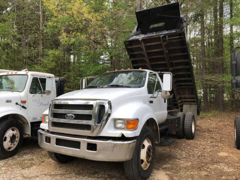 2006 Ford F-750 Super Duty for sale at M & W MOTOR COMPANY in Hope AR