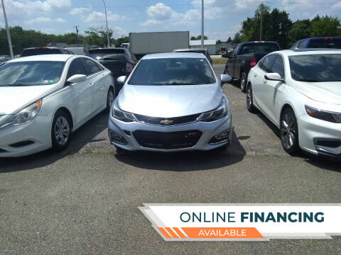 2017 Chevrolet Cruze for sale at Marino's Auto Sales in Laurel DE