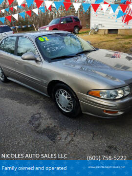 2002 Buick LeSabre for sale at NICOLES AUTO SALES LLC in Cream Ridge NJ