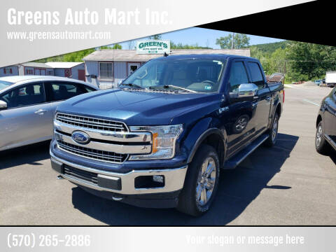 2019 Ford F-150 for sale at Greens Auto Mart Inc. in Wysox PA