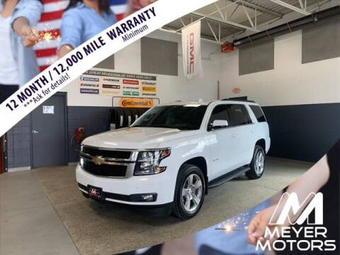 2019 Chevrolet Tahoe for sale at Meyer Motors in Plymouth WI