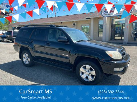 2004 Toyota 4Runner for sale at CarSmart MS in Diberville MS