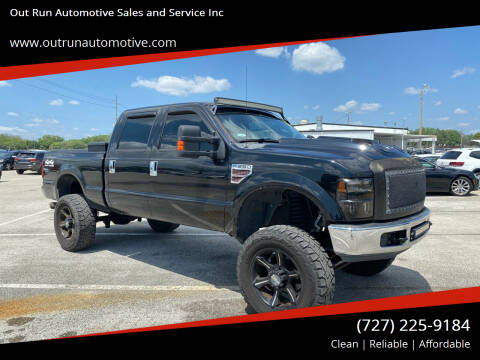 2008 Ford F-250 Super Duty for sale at Out Run Automotive Sales and Service Inc in Tampa FL