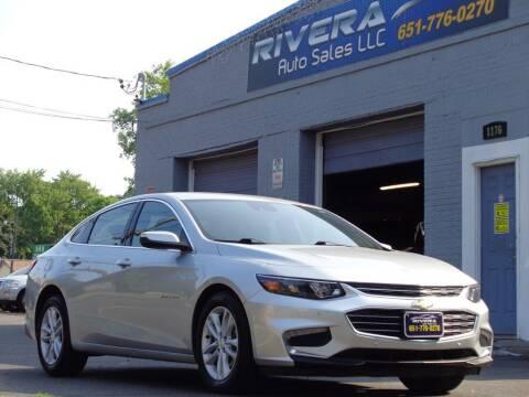 2018 Chevrolet Malibu for sale at Rivera Auto Sales LLC in Saint Paul MN