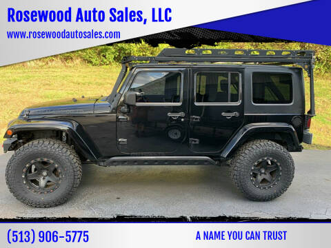 2009 Jeep Wrangler Unlimited for sale at Rosewood Auto Sales, LLC in Hamilton OH