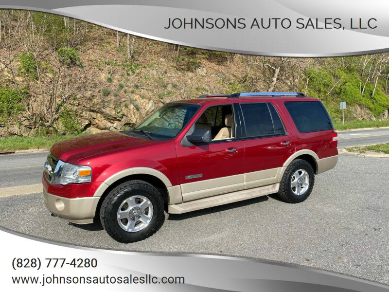 2008 Ford Expedition for sale at Johnsons Auto Sales, LLC in Marshall NC