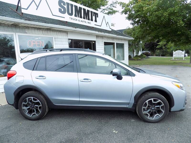 2017 Subaru Crosstrek for sale at SUMMIT TRUCK & AUTO INC in Akron NY