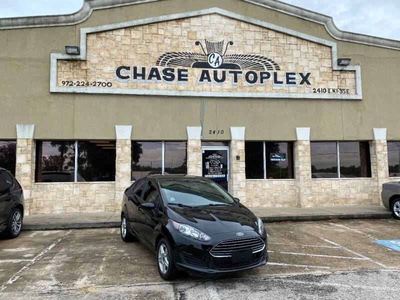 2019 Ford Fiesta for sale at CHASE AUTOPLEX in Lancaster TX