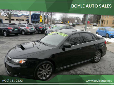 2009 Subaru Impreza for sale at Boyle Auto Sales in Appleton WI