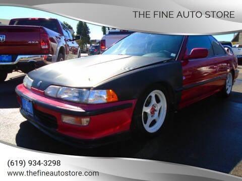 1992 Acura Integra for sale at The Fine Auto Store in Imperial Beach CA