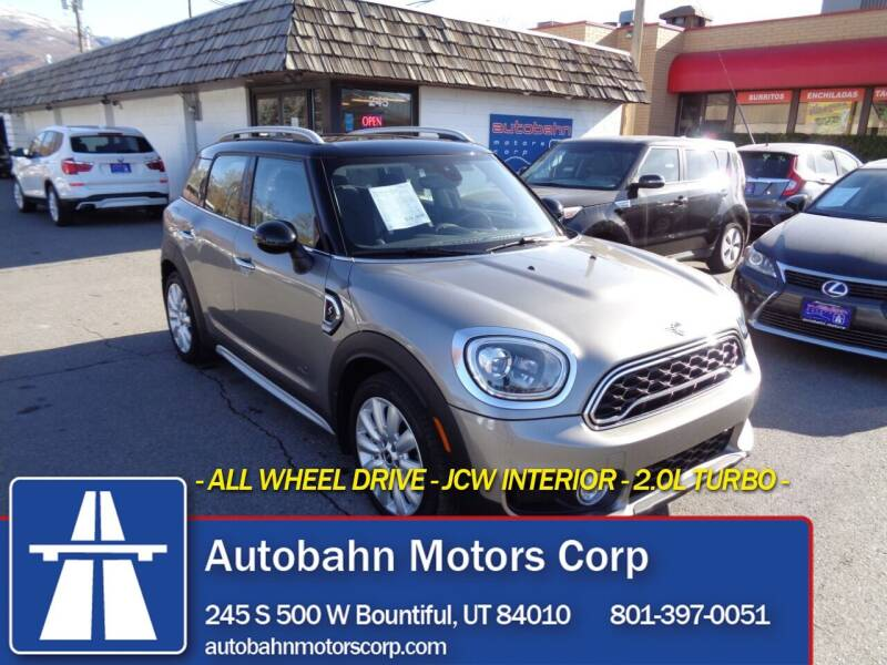 2019 MINI Countryman for sale at Autobahn Motors Corp in Bountiful UT