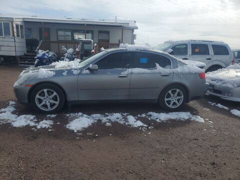 2004 Infiniti G35 for sale at PYRAMID MOTORS - Fountain Lot in Fountain CO