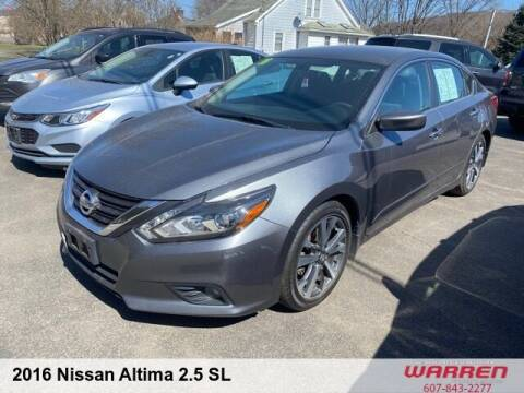2016 Nissan Altima for sale at Warren Auto Sales in Oxford NY