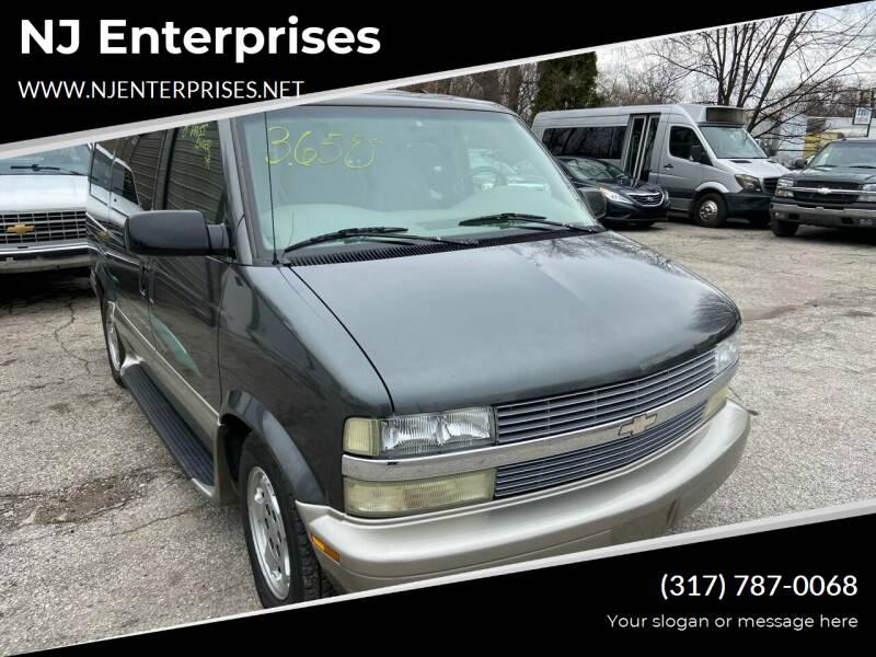 2004 Chevrolet Astro for sale at NJ Enterprises in Indianapolis IN
