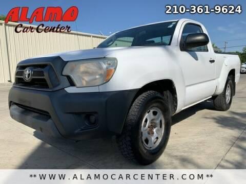 2012 Toyota Tacoma for sale at Alamo Car Center in San Antonio TX
