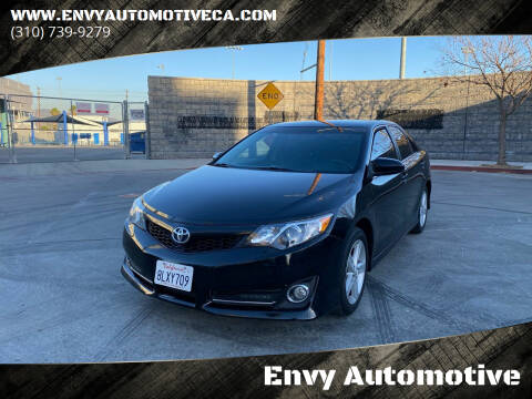2014 Toyota Camry for sale at Envy Automotive in Studio City CA