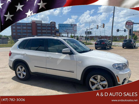 2012 BMW X5 for sale at A & D Auto Sales in Joplin MO