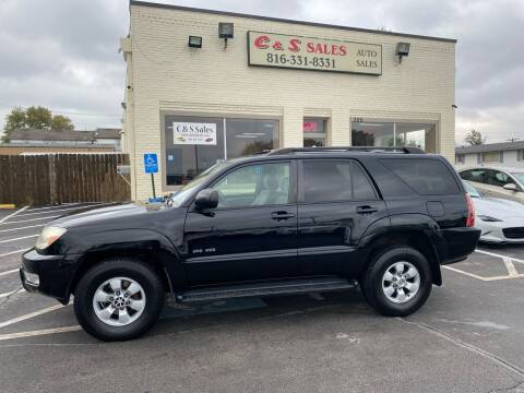 2004 Toyota 4Runner for sale at C & S SALES in Belton MO