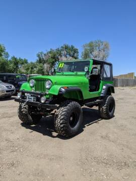 1983 Jeep CJ-7 for sale at HORSEPOWER AUTO BROKERS in Fort Collins CO