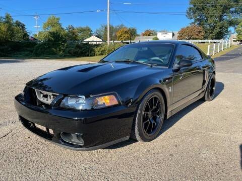 2003 Ford Mustang SVT Cobra for sale at Advanced Fleet Management in Towaco NJ