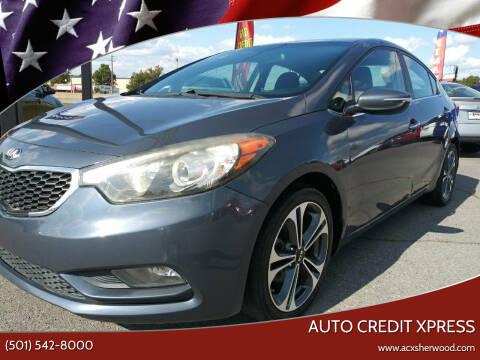 2014 Kia Forte for sale at Auto Credit Xpress in North Little Rock AR