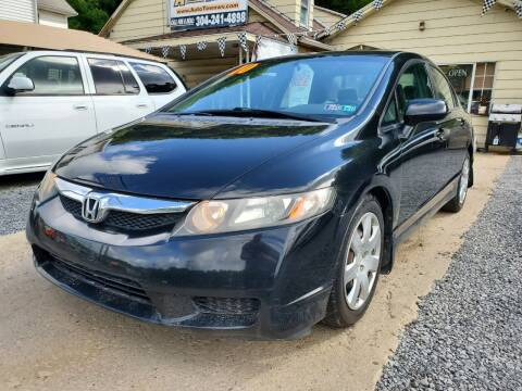 2010 Honda Civic for sale at Auto Town Used Cars in Morgantown WV