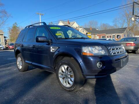 2014 Land Rover LR2 for sale at Automazed in Attleboro MA