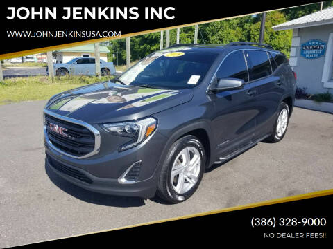 2018 GMC Terrain for sale at JOHN JENKINS INC in Palatka FL