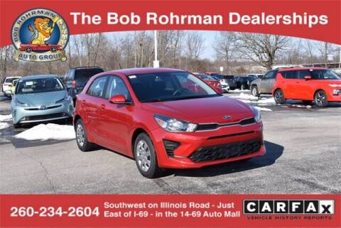 2021 Kia Rio 5-Door for sale at BOB ROHRMAN FORT WAYNE TOYOTA in Fort Wayne IN