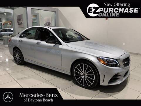 2019 Mercedes-Benz C-Class for sale at Mercedes-Benz of Daytona Beach in Daytona Beach FL
