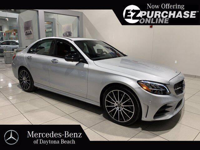 2019 Mercedes-Benz C-Class for sale at Mercedes-Benz of Daytona Beach in Daytona Beach FL