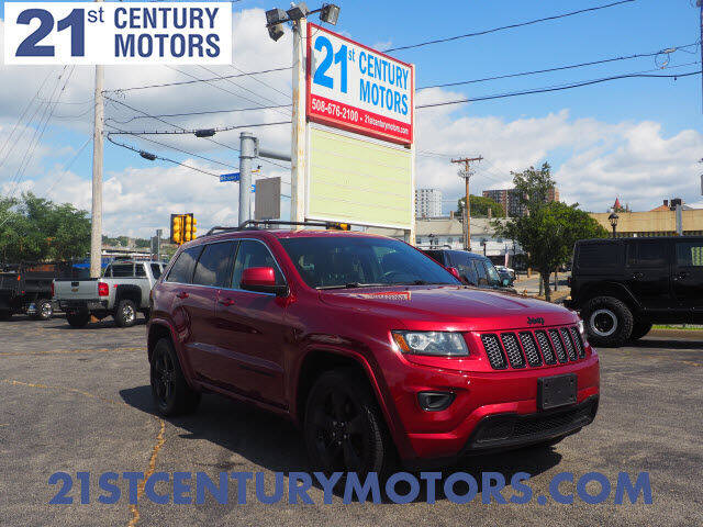 2015 Jeep Grand Cherokee for sale at 21st Century Motors in Fall River MA
