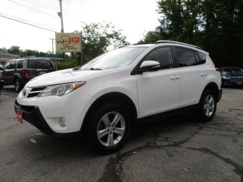 2013 Toyota RAV4 for sale at AUTO STOP INC. in Pelham NH