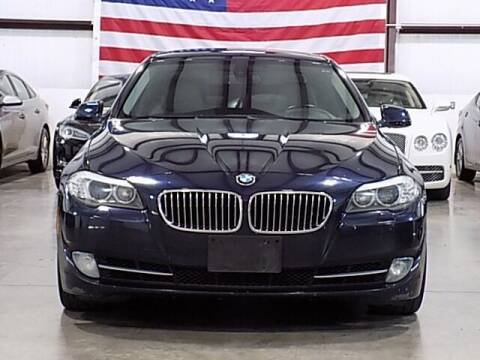 2011 BMW 5 Series for sale at Texas Motor Sport in Houston TX