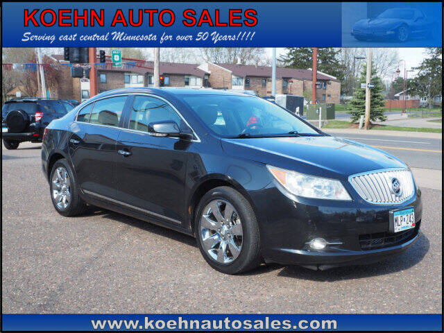 2012 Buick LaCrosse for sale at Koehn Auto Sales in Lindstrom MN