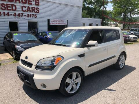 2010 Kia Soul for sale at George's Used Cars Inc in Orbisonia PA